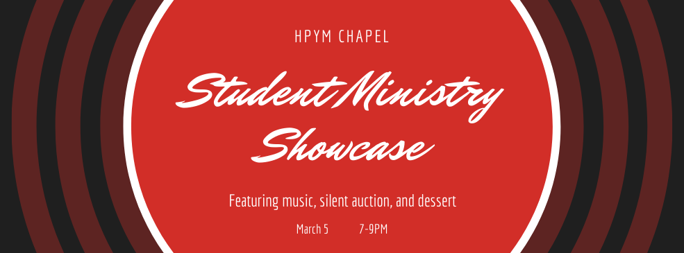 student ministry showcase slider